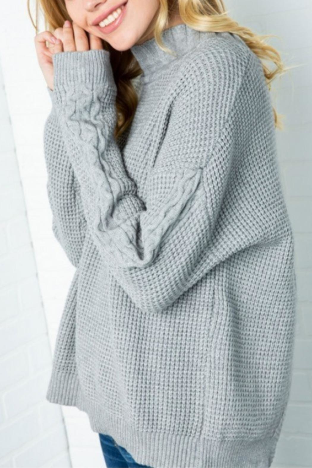 Cozy Casual Lickety Split Sweater - Front Full Image