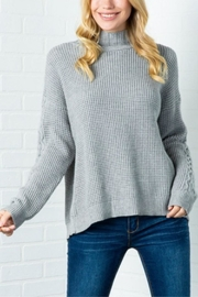 Cozy Casual Lickety Split Sweater - Back cropped