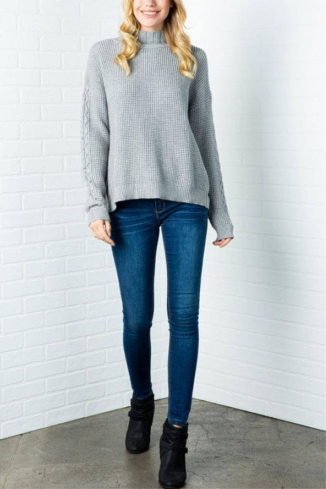 Cozy Casual Lickety Split Sweater - Main Image