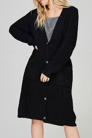 Cozy Casual Plus Cozy Cardigan - Front cropped