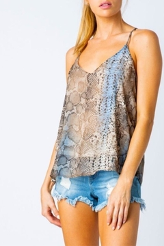 Cozy Casual Snake Skin Camisole - Alternate List Image