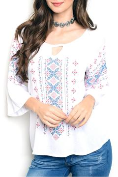 Shoptiques Product: White Embroidery Top