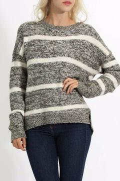 Cozy Casual Zip Detail Sweater - Product List Image