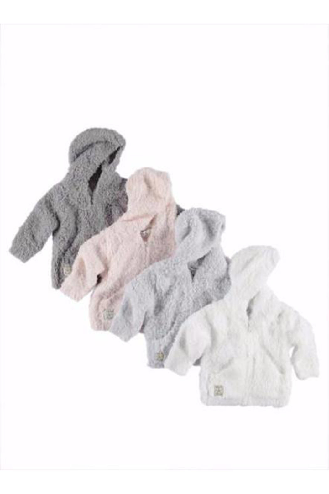Barefoot Dreams CozyChic Infant Hoodie - Front Full Image