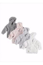 Barefoot Dreams CozyChic Infant Hoodie - Front full body