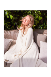 Barefoot Dreams COZYCHIC LITE RIBBED THROW - Product Mini Image