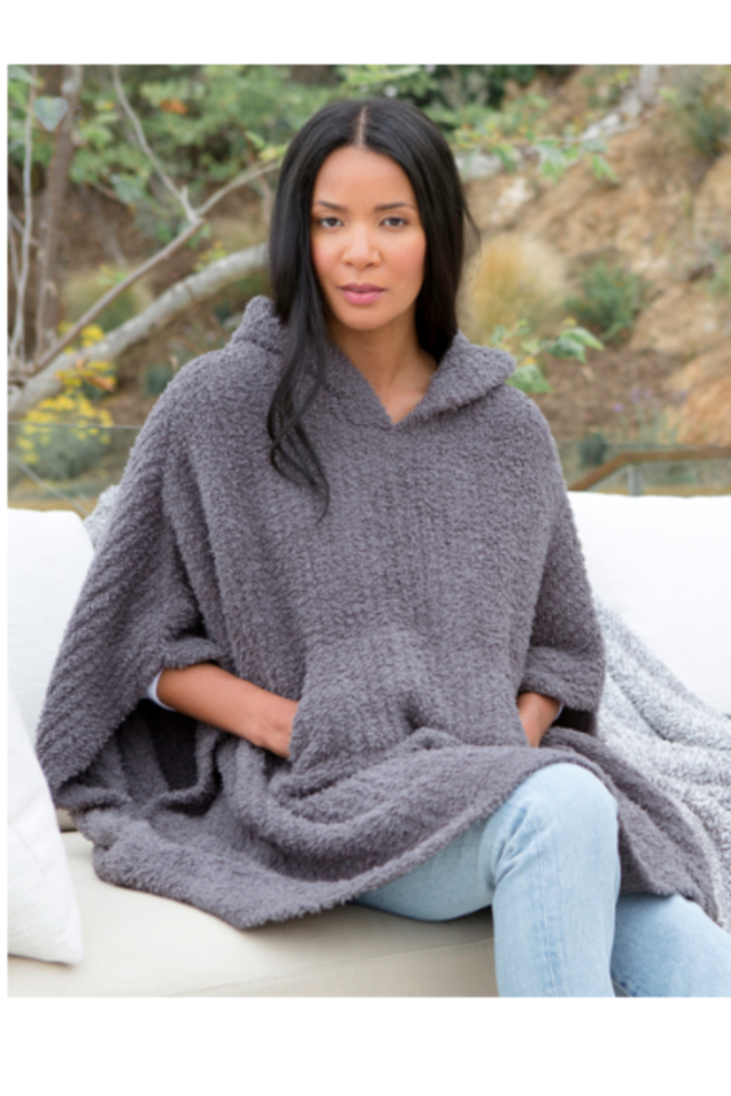 The Birds Nest COZYCHIC THE RIBBED COZY-ASH - Main Image