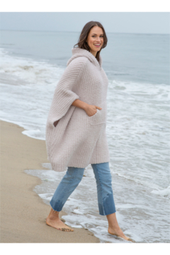The Birds Nest COZYCHIC THE RIBBED COZY SWEATER -ALMOND - Product List Image