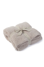 Barefoot Dreams COZYCHIC THROW-STONE - Front cropped