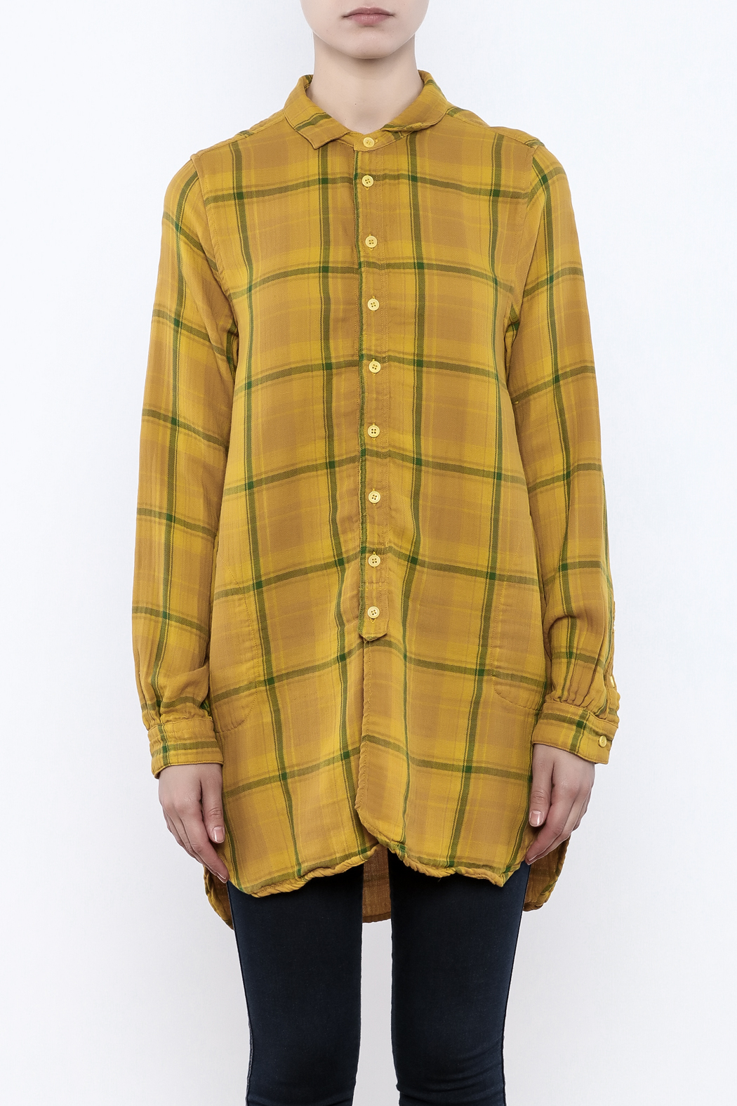 CP Shades Cecelia Plaid Shirt - Side Cropped Image