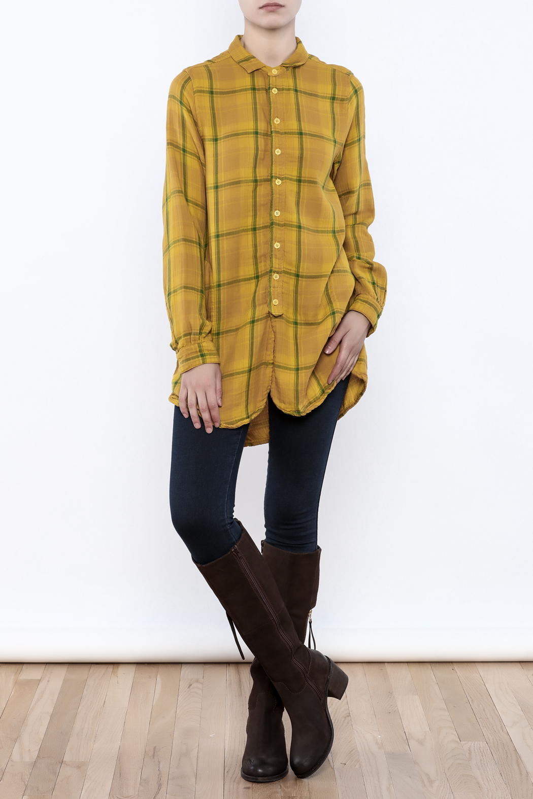 CP Shades Cecelia Plaid Shirt - Front Full Image