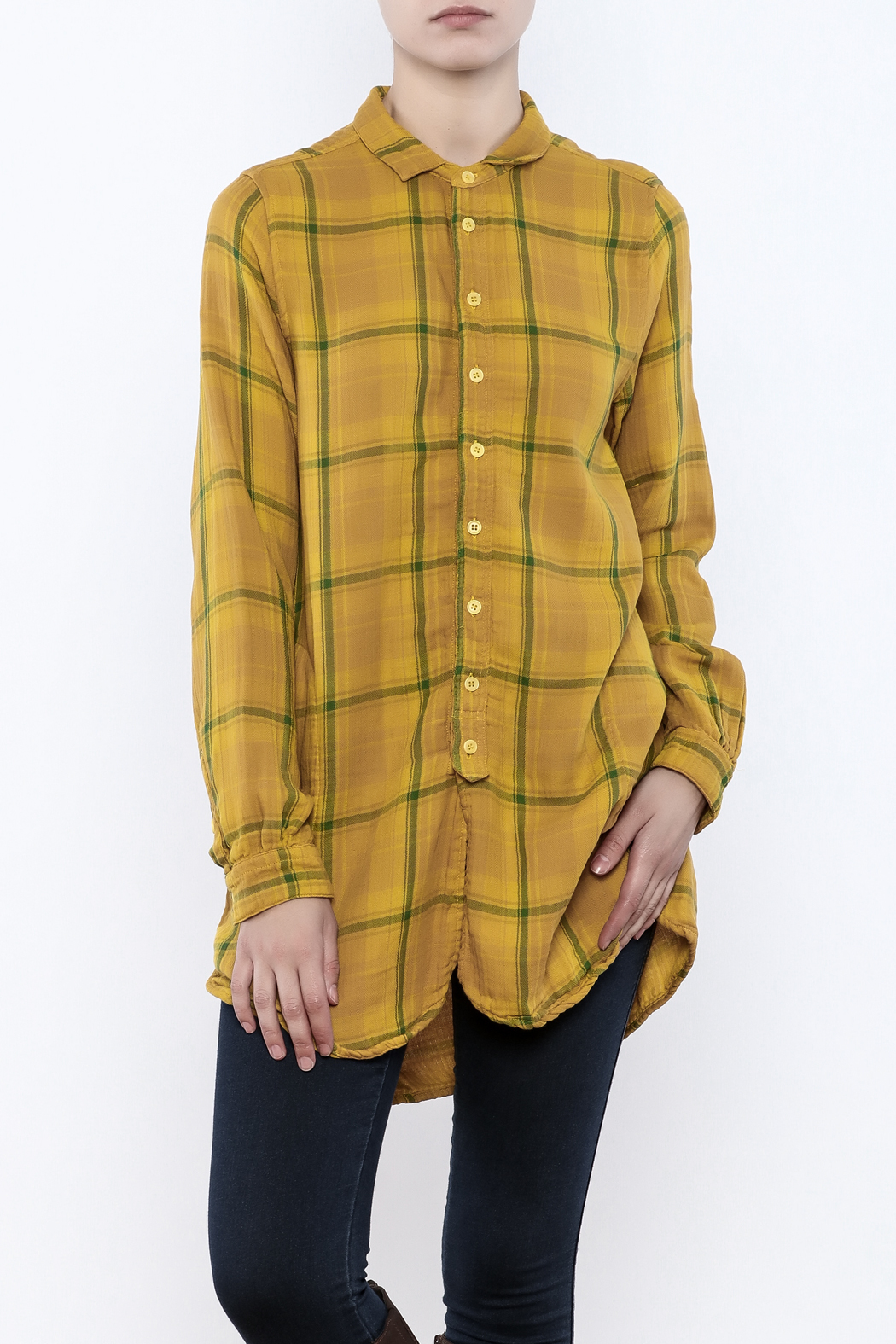 CP Shades Cecelia Plaid Shirt - Front Cropped Image