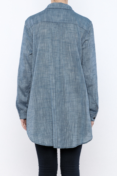 CP Shades Chambray Linen Top - Alternate List Image