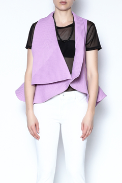 Shoptiques Product: Purple Quilted Vest