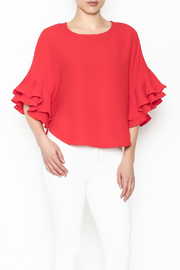 cq by cq Bell Sleeve Top - Product Mini Image