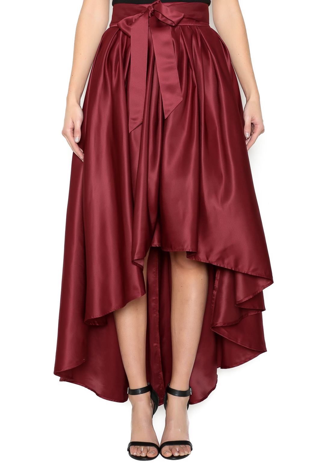 cq by cq bow tie midi skirt from manhattan by dor l dor