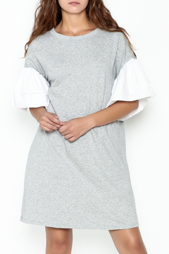 cq by cq Contrast Sleeve Shift Dress - Product List Image