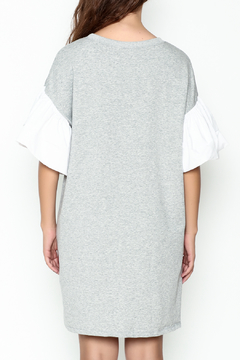 cq by cq Contrast Sleeve Shift Dress - Alternate List Image