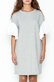 cq by cq Contrast Sleeve Shift Dress - Front full body