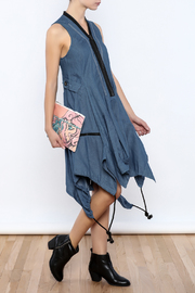 cq by cq Denim Zipper Dress - Product Mini Image