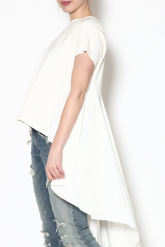 Shoptiques Product: White High-Low Top