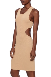 cq by cq Latte Cutout Dress - Product Mini Image
