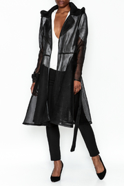 cq by cq Mesh Trench Coat - Product Mini Image