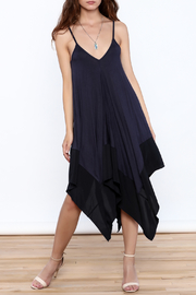 cq by cq Blue Sleeveless Asymmetrical Dress - Product Mini Image
