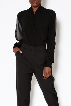 Shoptiques Product: Slit Sleeve Bodysuit