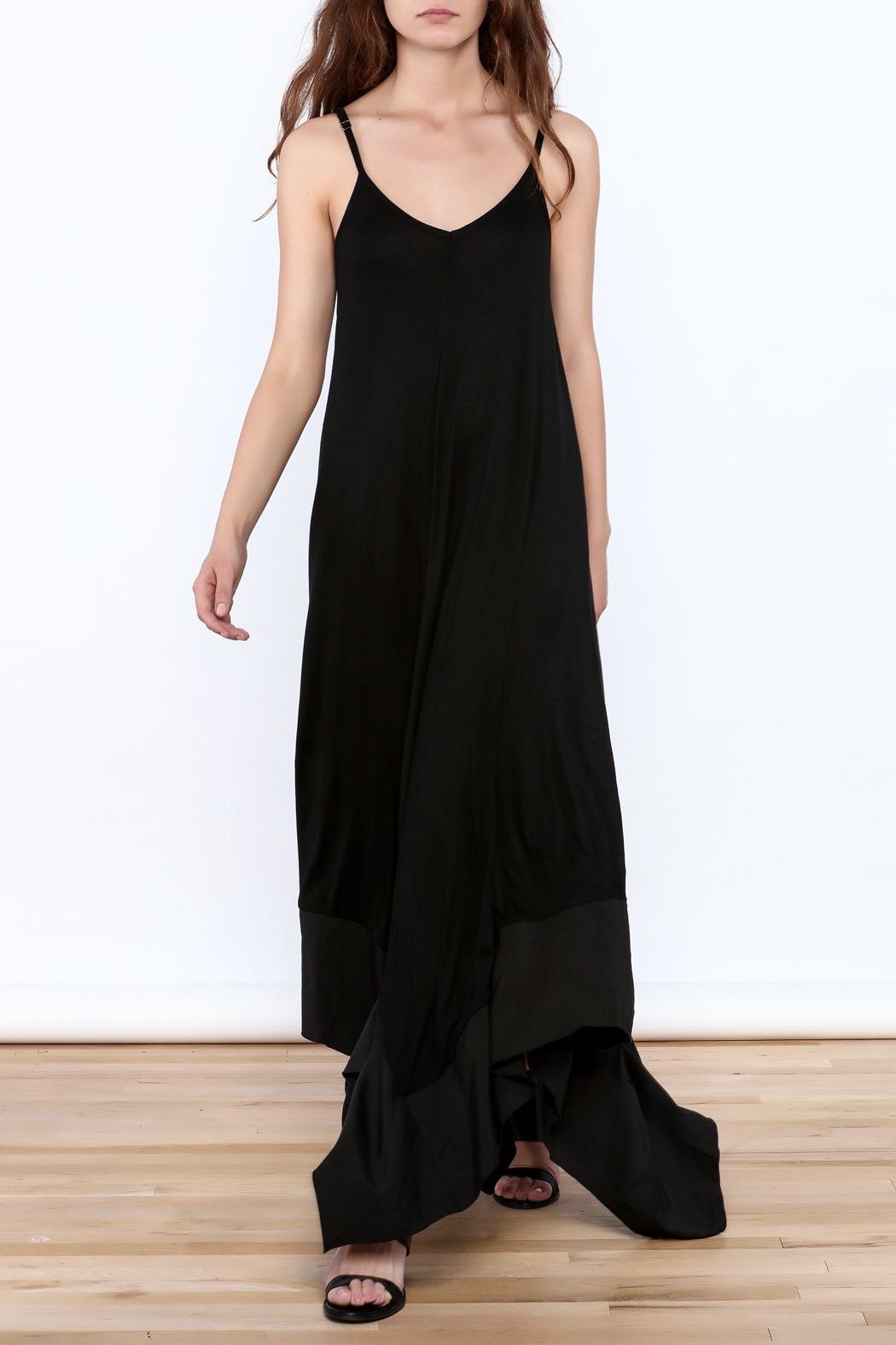 cq by cq Sleeveless Asymmetrical Dress - Front Full Image