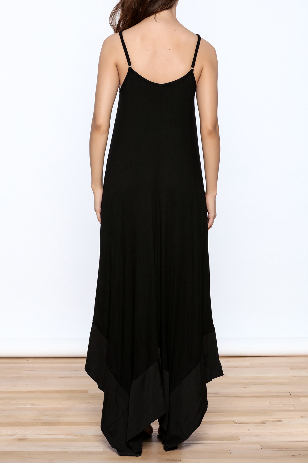 cq by cq Sleeveless Asymmetrical Dress - Back Cropped Image