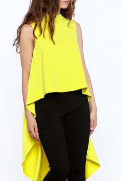 Shoptiques Product: Bright Yellow Sleeveless Top