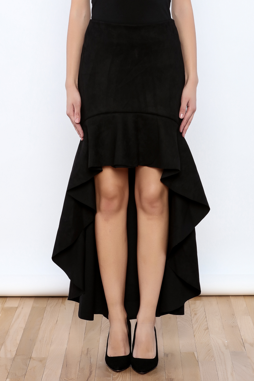 cq by cq Tango Skirt - Side Cropped Image