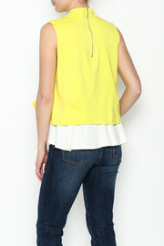 cq by cq Underlay Blouse - Back cropped