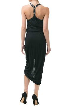 CQ By Caribbean Queen Black Ruched Dress - Alternate List Image