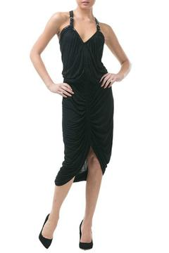 CQ By Caribbean Queen Black Ruched Dress - Product List Image