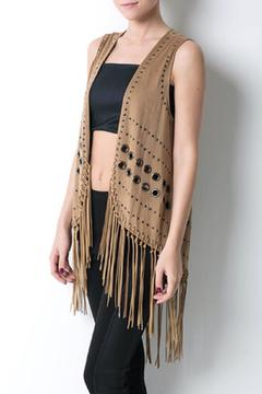 CQ By Caribbean Queen Fringe Vest - Product List Image