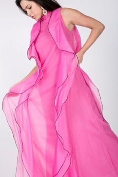 CQ By Caribbean Queen Pink Ruffle Dress - Product List Image