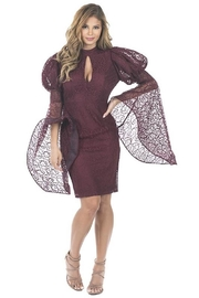 cq by cq Bell Sleeve Dress - Product Mini Image