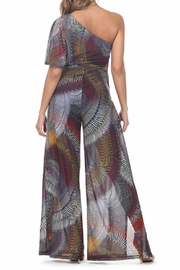 cq by cq Colorful Jumpsuit - Front full body