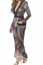 cq by cq Colorful Open Maxi - Front full body