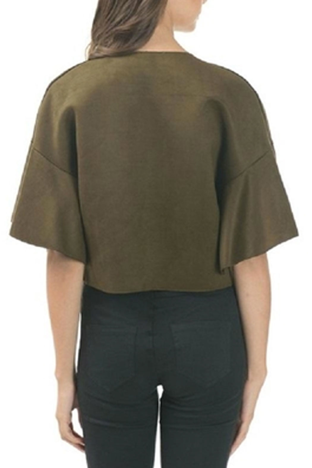 cq by cq Flared Sleeve Blazer - Side Cropped Image
