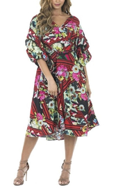 cq by cq Floral Flowy Dress - Front cropped