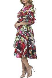 cq by cq Floral Flowy Dress - Side cropped