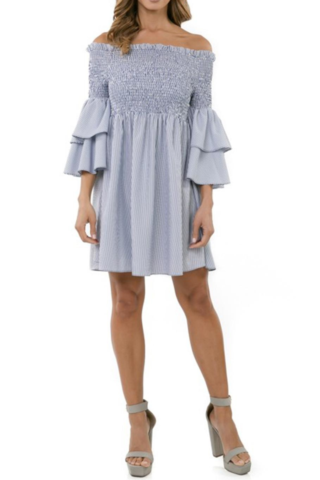 cq by cq Off Shoulder Dress - Main Image