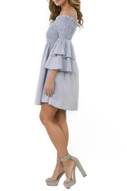 cq by cq Off Shoulder Dress - Front full body