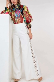 cq by cq Pearl Wide Leg Pants - Front cropped