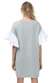 cq by cq Ruffle Sleeve Dress - Side cropped