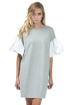 cq by cq Ruffle Sleeve Dress - Product List Image