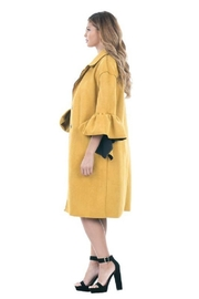 cq by cq Vegan Suede Jacket - Front full body